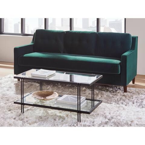 Lifestorey Retro Loose Back Sofa