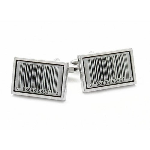 Barcode Cufflinks Shopping Sales