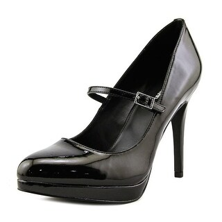 Calvin Klein Kalinda Women  Open Toe Patent Leather  Platform Heel
