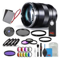 Zeiss Apo Sonnar T* 135mm f/2 ZE Lens for Canon - 1999-675 with Cleaning Accessory Kit and 2 Year Extended Warranty