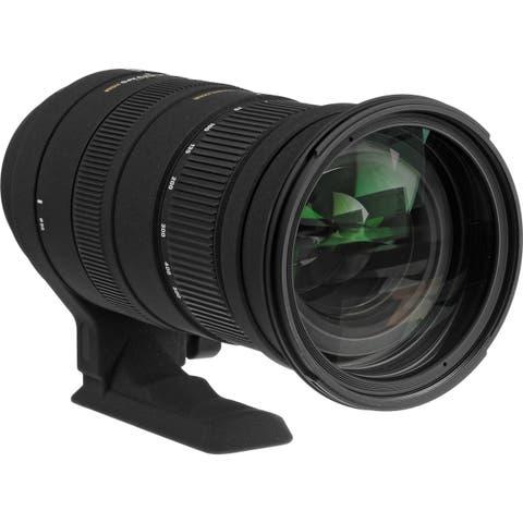 Sigma 50-500mm f/4.5-6.3 APO DG OS HSM Lens for Nikon (International Model)