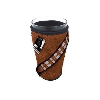 Fur Chewbacca Cooler Sleeve w/ Glass