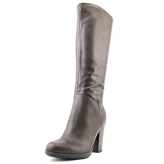 Style & Co Istella Round Toe Synthetic Knee High Boot