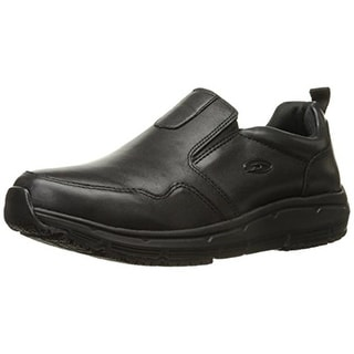 Dr. Scholl's Mens Beta Leather Slip Resistant Work Shoes