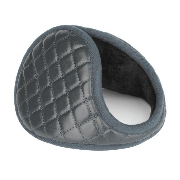 Outdoor Activities Warm Ear Earmuffs Winter for Men Women Gray-4