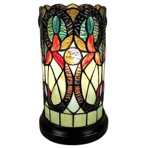 Tiffany Style Floral Design Table Lamp Amora Lighting