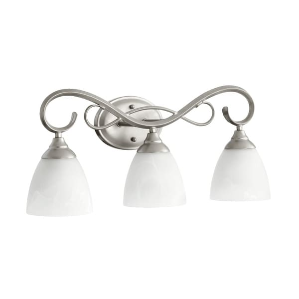 Quorum International 5108-3 Powell 3 Light Bathroom Vanity Light