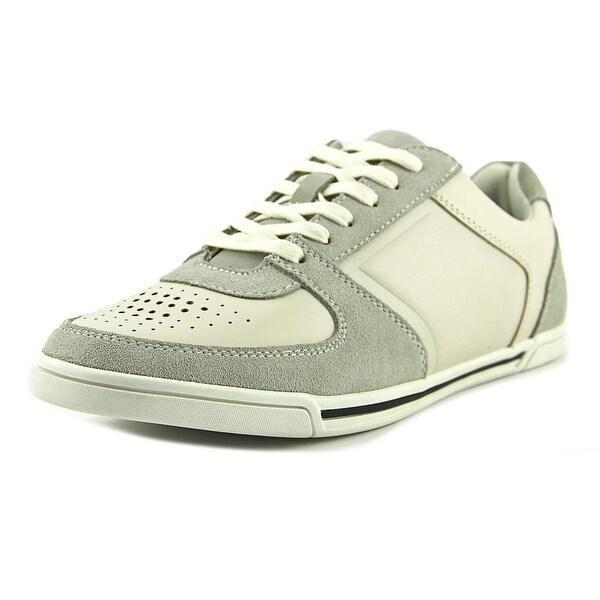 Aldo Andy Sneaker Men Round Toe Suede Gray Sneakers