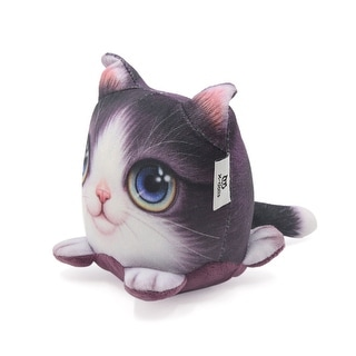 Purple Cat Shape Deodorant Air Refreshing Activated Carbon Decoration for Car