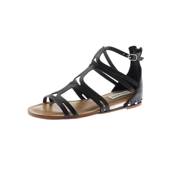 Steve Madden Womens Delta Flat Sandals Gladiator