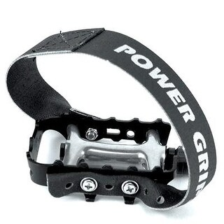 Power Grips Fixie Bicycle Pedal Straps - Black