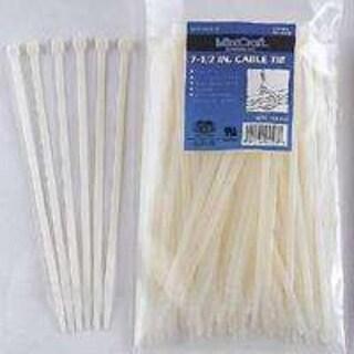 "Mintcraft CV190-1003L Nylon Cable Ties, 7.5"", 50 Lb, 100-Piece"