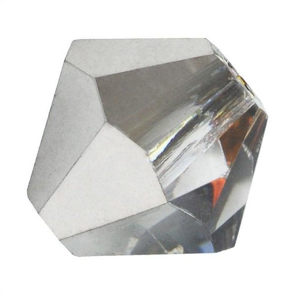 Preciosa Czech Crystal Beads 6mm Bicone 'Crystal Volcano' (20)