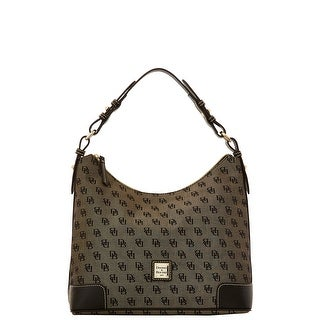 Dooney & Bourke Madison Signature Large Erica (Introduced by Dooney & Bourke at $198 in Nov 2015) - Black