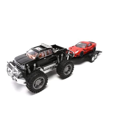 WonderPlay FP Trailer Truck 3 Years + - Red