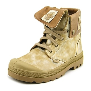 Palladium Baggy Lea Zipper Round Toe Leather Boot