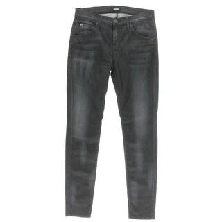 Hudson Womens Skinny Jeans Denim Soft Premium