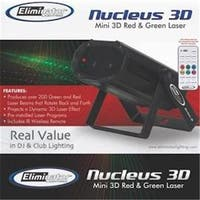 3D Red & Green Laser Effect with Multiple Sky Beams