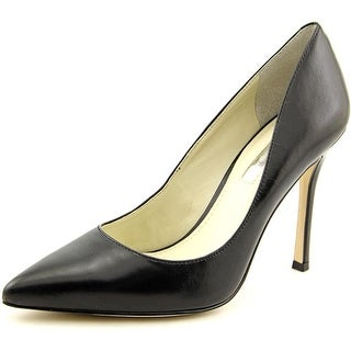 BCBGeneration Treasure Women Pointed Toe Leather Black Heels