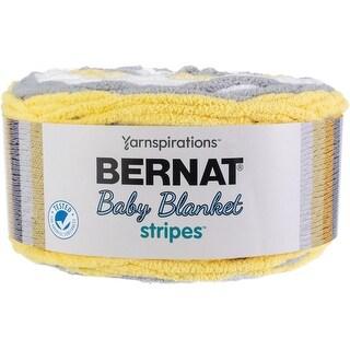 Bernat Bernat Baby Blanket Stripes Yarn-Sunshine