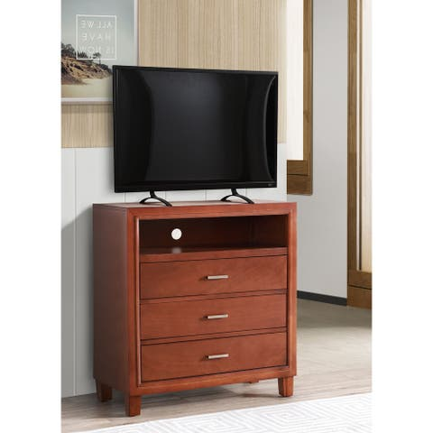 Darden 3-drawer Wooden Entertainment Center