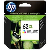 Hewlett Packard  Genuine OEM HP62XL High Yield Tri-Color Ink Cartridge