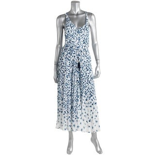 Tory Burch Womens Animal Print Knee-Length Casual Dress - M
