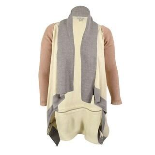 Calvin Klein Women's Long Sleeves Flyaway Cardigan Sweater