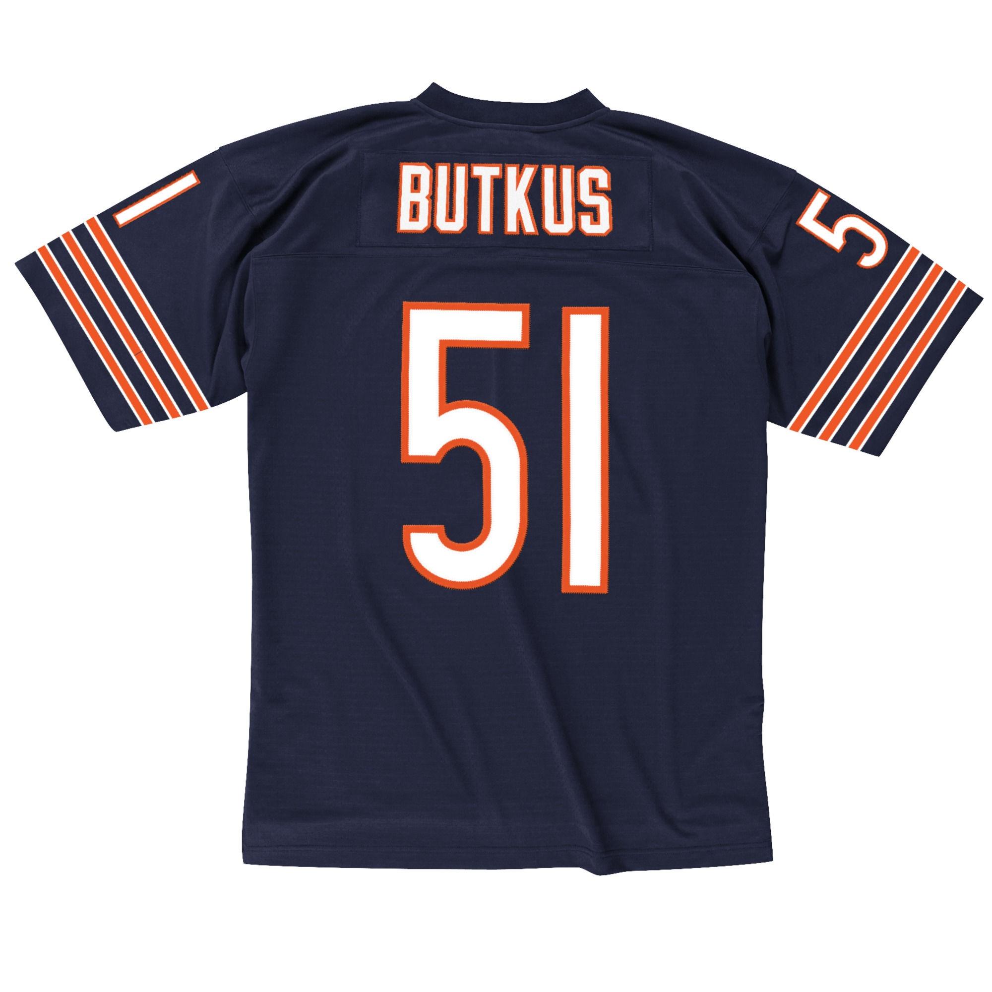 Chicago Bears Dick Butkus #51 1966 Replica Jersey, Navy