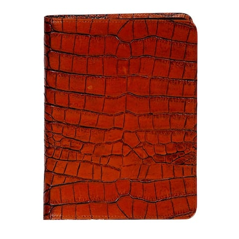 Scully Western Address Book Crocodile Print Leather Telephone - One Size