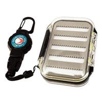 T-reign outdoor products 0tbp-0091 t-reign outdoor products 0tbp-0091 fly box combo - carabiner
