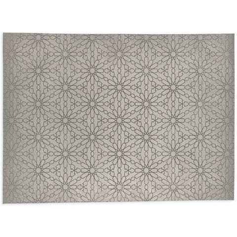 LIDIA IVORY Office Mat By Kavka Designs