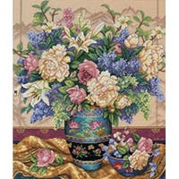 """Gold Collection Oriental Splendor Counted Cross Stitch Kit-12""""X14"""""""