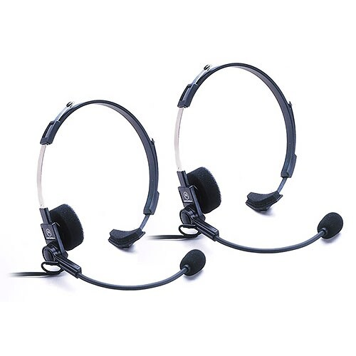 Motorola 53725 Headset w/ Boom Mic (2-Pack)