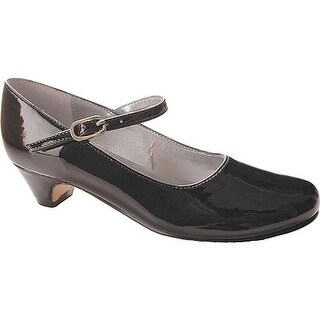Nina Girls' Seeley Mary Jane Black Patent Leather