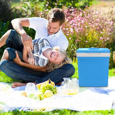 ZOKOP Electric Portable Fridge Cooler & Warmer ( 26 Liter / 0.92Cuft ) AC/DC Portable Thermoelectric System
