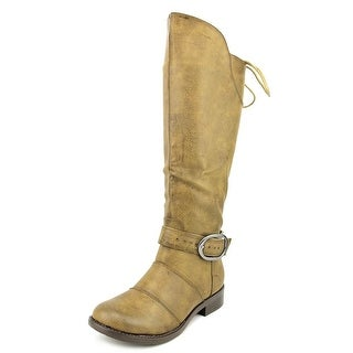2 Lips Too TOO JANGLER Round Toe Synthetic Mid Calf Boot