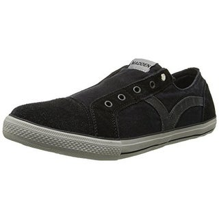 Madden Mens Utica Suede Laceless Fashion Sneakers
