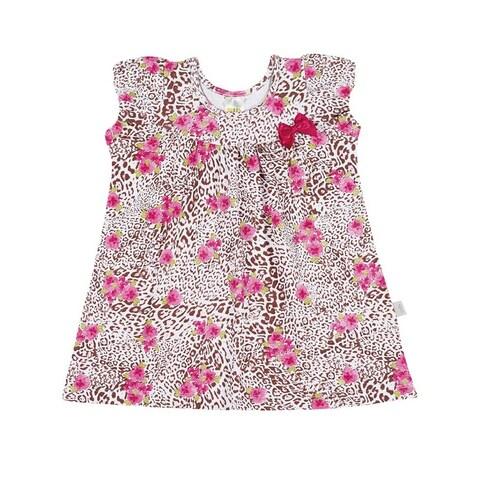 Baby Girl Dress Cheetah Print Infants Pulla Bulla Sizes 3-12 Months