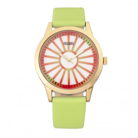 Crayo Electric Unisex Quartz Watch