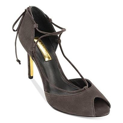 LAUREN Ralph Lauren Linden Charcoal Women Sandal