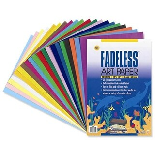 Pacon 5751-0 Fade Less Art Paper