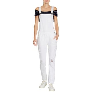 Pistola Womens Overall Jeans Denim Destroyed