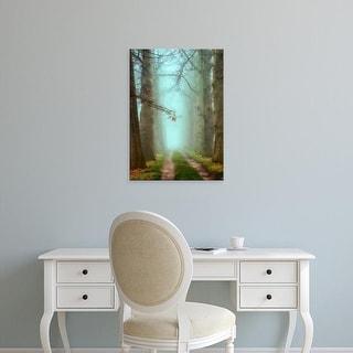 Easy Art Prints Lars Van de Goor's 'Blue Mist' Premium Canvas Art