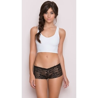 All Over Lace Boyshort, All Lace Boy Shorts