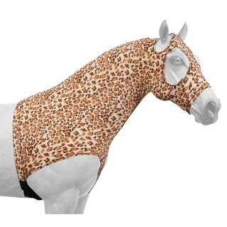 Tough-1 Neck Cover Spandex Mane Stay Hood Prints Sculpted Fit