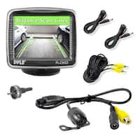 Rear View Backup Camera & Monitor Parking Assist System, 3.5-in Screen, Night Vision, Distance Scale