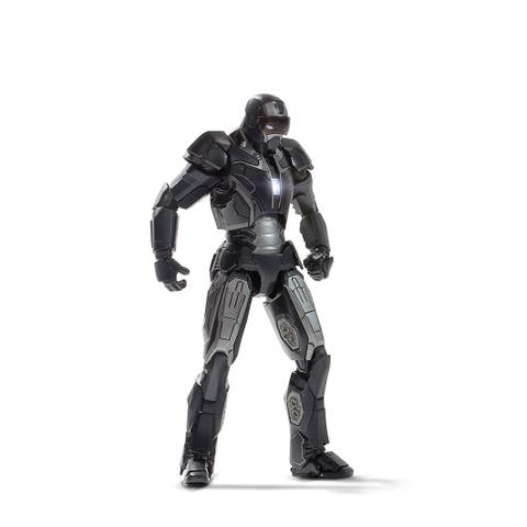 "Marvel Iron Man 6"" Die-Cast Metal Action Figure: Shotgun Iron Man Mark X - multi"