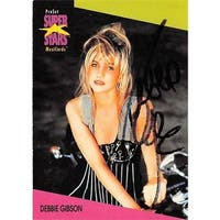 Debbie Gibson Autographed Trading Card - Long Island New York