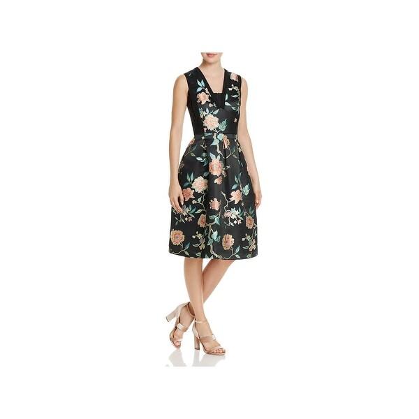 40bc74126d89a Nanette Nanette Lepore Womens Eastern Opulence Party Dress Lace Midi - 10